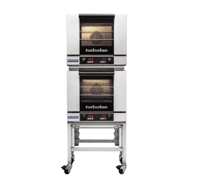 Double Stacked 3 Tray Half Size Digital Electric Convection Oven