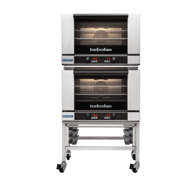 Double Stacked 3 Tray Full Size Digital Electric Convection Oven