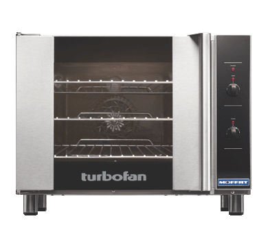 3 Tray Half Size Manual Electric Convection Oven