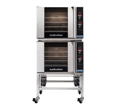 Double Stacked 4 Tray Half Size Digital Electric Convection Oven