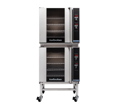 Double Stacked 4 Tray Full Size Digital Electric Convection Oven