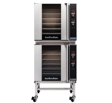 Double Stacked 5 Tray Full Size Digital Electric Convection Oven