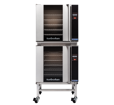 Double Stacked 5 Tray Full Size Touch Electri Convection Oven