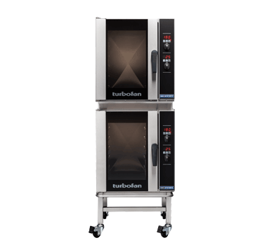 Double Stacked 5 Tray Half Size Digital Electric Convection Oven