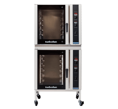 Double Stacked 6 Tray Full Size Digital Electric Convection Oven