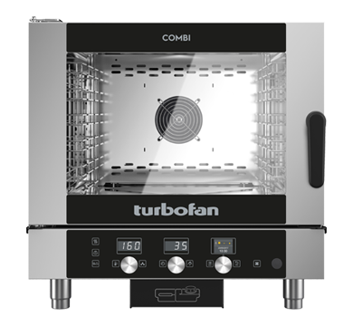 5 Tray Half Size Digital Electric Combi Oven