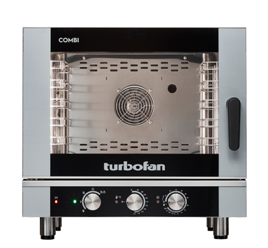 5 Tray Half Size Manual Electric Combi Oven