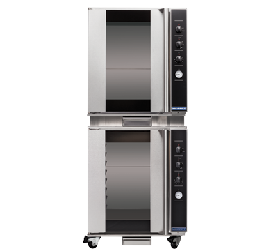 Double Stacked 8 Tray Full Size Manual Electric Prover/Holding Cabinet